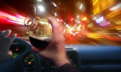 Ubriaco alla guida: denunciato 37enne