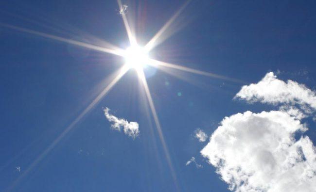 Meteo: gli acquazzoni si allontanano, arriva il caldo estivo