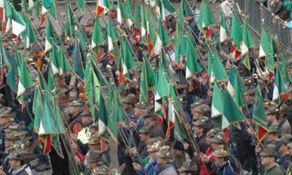 Corpo degli Alpini saluto al generale d'Armata