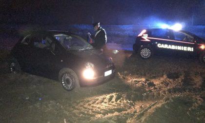 Auto rubata ritrovata a Ricengo