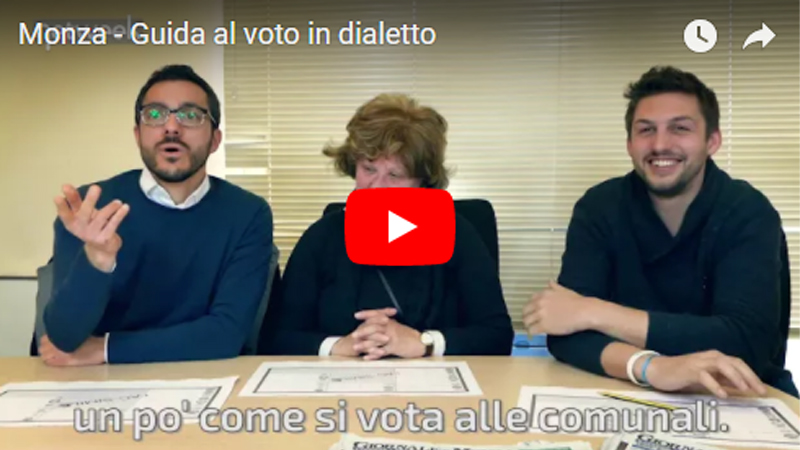 Come si vota domenica alle Regionali? In Brianza i politici lo spiegano in dialetto VIDEO