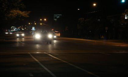 Incidente stradale senza gravi conseguenze SIRENE DI NOTTE