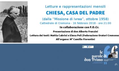 Eventi Cremona 2018: le parole di don Primo Mazzolari