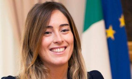 Maria Elena Boschi a Casalmaggiore