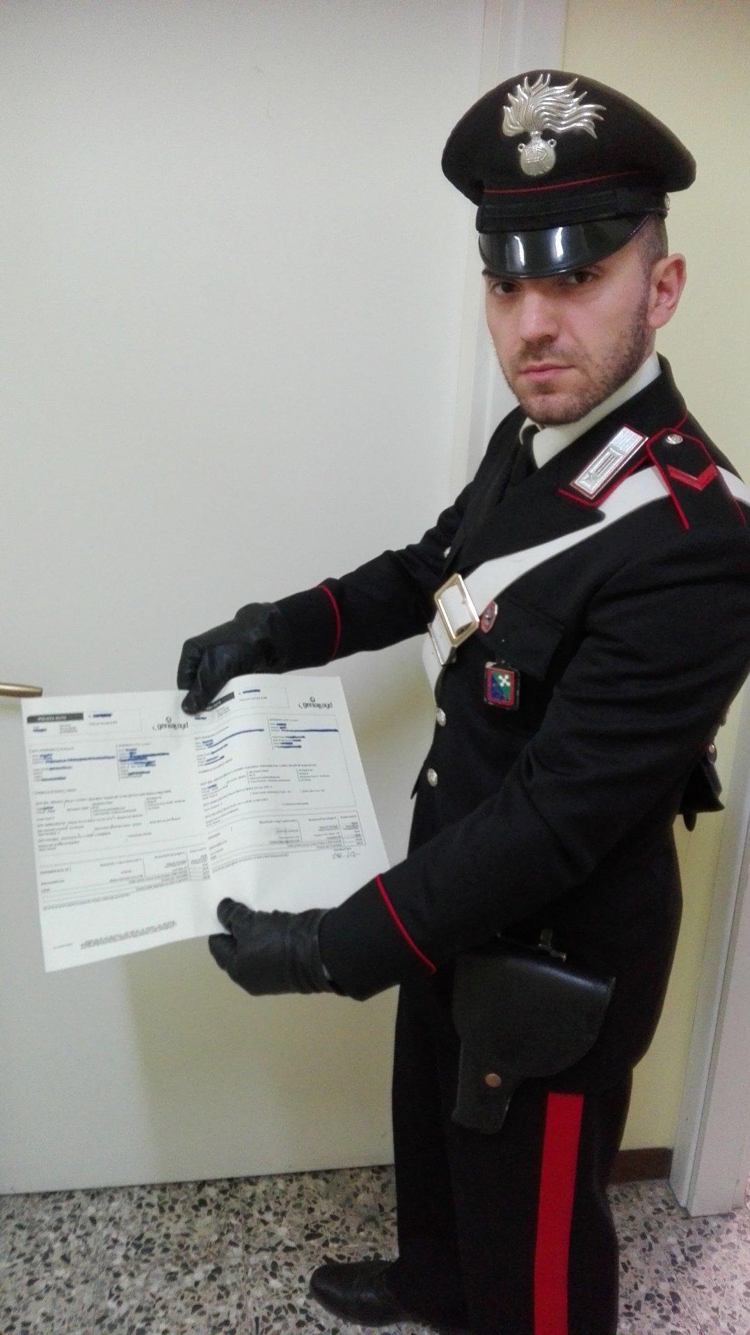 Polizze false arrestato assicuratore