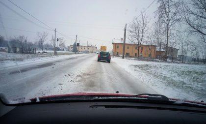 Neve sulle strade, raffica di incidenti stradali in poche ore