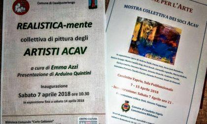 «Insieme per l'Arte» in mostra a Casaletto Vaprio