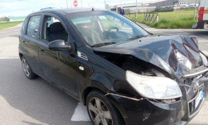 Incidente a Cremosano, coppia in ospedale FOTO