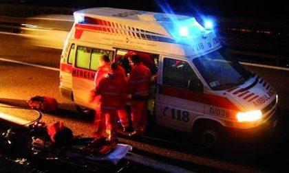 Auto ribaltata a Volta Mantovana, 52enne in ospedale SIRENE DI NOTTE