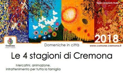 Le 4 stagioni di Cremona appuntamenti con il mercatino dell'usato