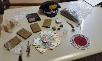 Market della droga a casa di un pusher