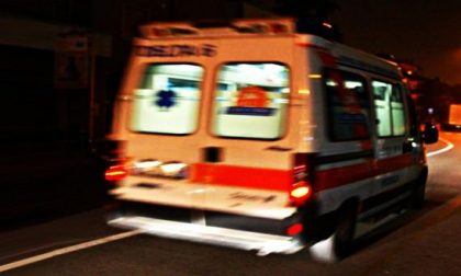 Brutto incidente, due giovani in codice rosso SIRENE DI NOTTE