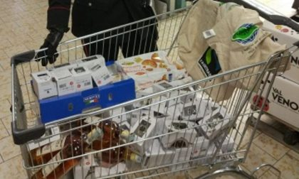 Furto supermercato Lidl, arrestati due pregiudicati