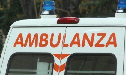 Tir urta ciclista, ferito un 26enne