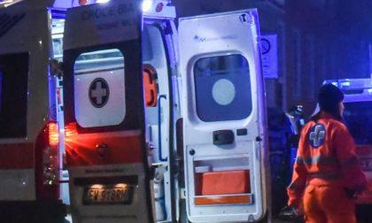 Incidente stradale con mezzo pesante, soccorse due persone SIRENE DI NOTTE
