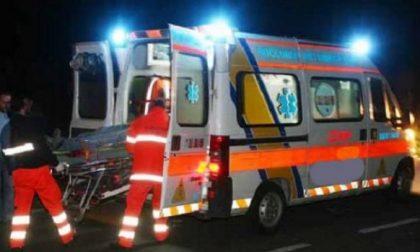 Caduta al suolo per un bambino di 5 anni SIRENE DI NOTTE