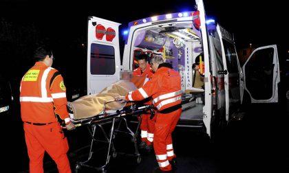 Auto contro moto a Dovera, soccorse 3 persone SIRENE DI NOTTE