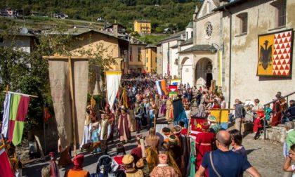 Rievocazione storica in Valtellina, a Teglio un tuffo nel Rinascimento