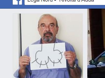 Il vignettista Vauro sbeffeggiato dalla Lega di Rivolta
