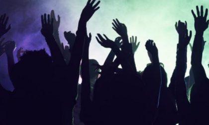 Rave party a sorpresa nel bosco a Solarolo Paganino
