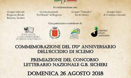 Eccidio di Sclemo: Il Comune di Cremona presente al 170° anniversario