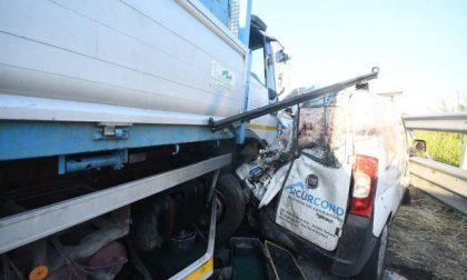 Incidente Paullese, sarà omicidio stradale per il camionista di Dovera