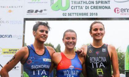20° Triathlon Sprint Città di Cremona, vincono Tania Molinari e Thomas Previtali