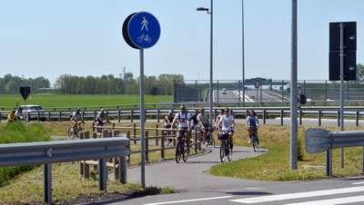 Ponte di Ognissanti nel segno delle gite auto-più-bici lungo A58-TEEM