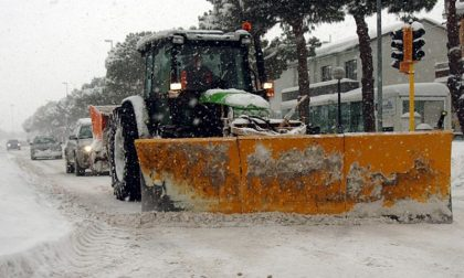 Allerta gialla per possibili nevicate e vento forte: pronto e operativo il piano neve