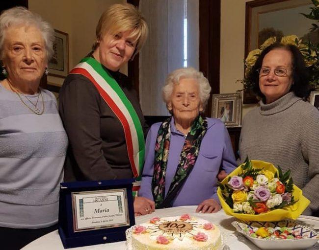 Un'altra centenaria a Pandino: è Maria Trabattoni