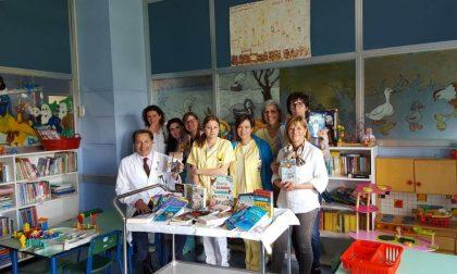 Libri in dono alla Pediatria e Neuropsichiatria Infantile dell'Ospedale di Cremona