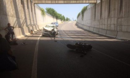 Tragico incidente in moto, muore 59enne di Rivolta d'Adda FOTO