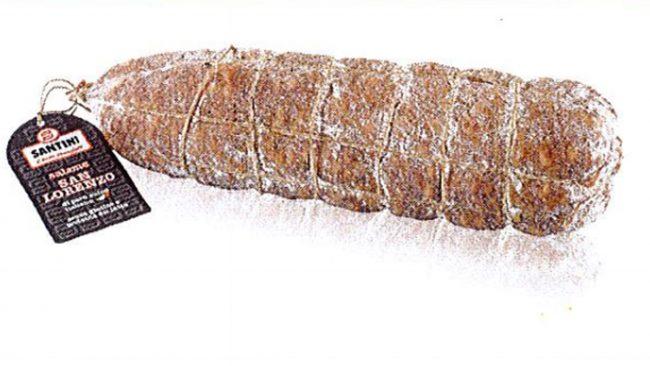Salmonella nel salame San Lorenzo di Cremona: lotto ritirato