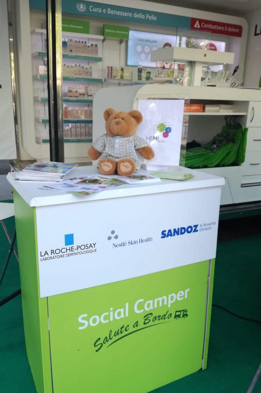 Arriva a Cremona il Social Camper della salute e del benessere