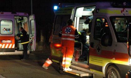 Incidente sulla Bergamina, cinque feriti tra cui un bambino di 1 anno SIRENE DI NOTTE