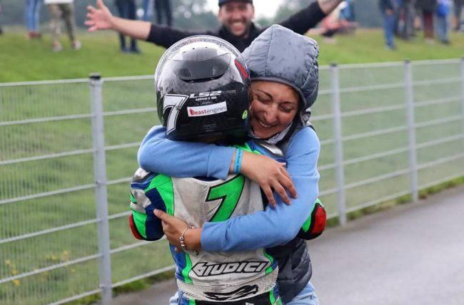 Cristian Borrelli conquista l'Europa alla minibike championship FOTO