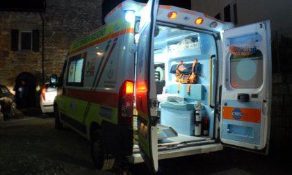 Incidente contro un ostacolo per un 33enne SIRENE DI NOTTE