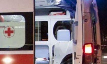 Incidente stradale a Formigara, 21enne in ospedale SIRENE DI NOTTE