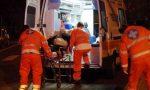 Incidente stradale a Pizzighettone: soccorso 26enne SIRENE DI NOTTE