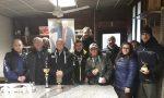 Trofeo Luciano Gandini, pescatori in gara anche sotto la pioggia FOTO