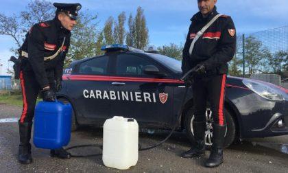 Ladri di gasolio in azione a Gombito, fermati subito dopo il tentato furto