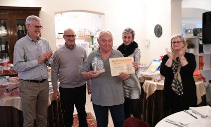 Premiato Giacomo Villa, 70 anni di vita nella Banda di Pandino