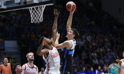 Terza vittoria consecutiva per la Vanoli Basket