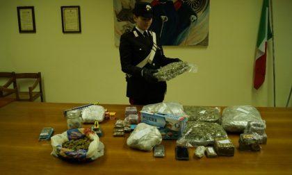 Arrestata pusher 29enne: trovata con quasi 8 chili di droga