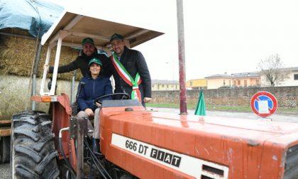 Più di 60 trattori alla festa del Ringraziamento di Gradella