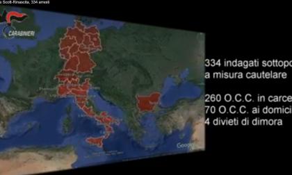 Maxi blitz contro la 'Ndrangheta: 334 persone indagate