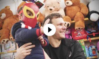 """Vanoli Basket, Travis Diener: """"Santa Lucia"""" speciale per bambini meno fortunati VIDEO"""