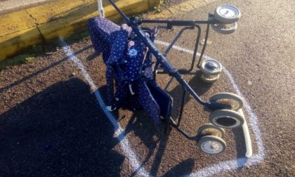 Passeggino travolto, bimbo in coma: il pirata della strada è una 22enne