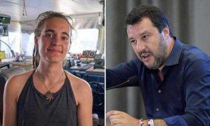 Diffamazione a Carola Rackete, chiusa l'indagine su Salvini