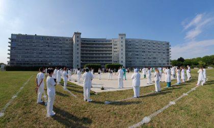 Covid: il ringraziamento ai sanitari corsi in aiuto a Cremona e Casalmaggiore FOTO